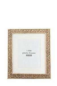 FANCY ETCHED PHOTO FRAME, 35X30CM