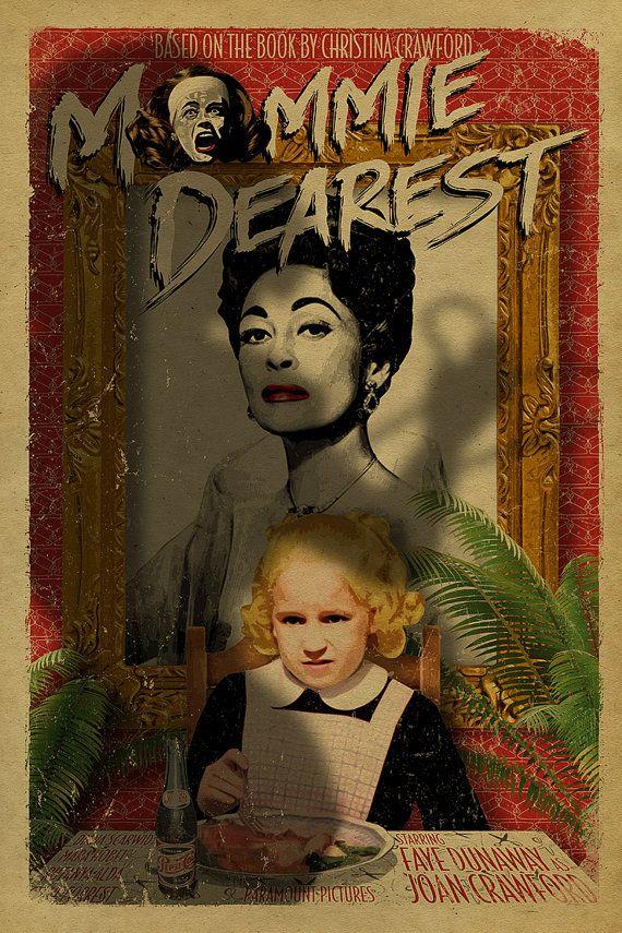 Cartel de Mommie más estimado. Faye Dunaway. por UncleGertrudes