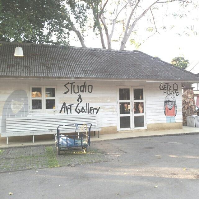 Studio & Art gallery  at cicada maket huahin