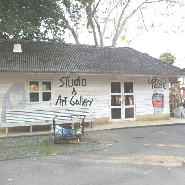 Studio & Art gallery  at cicada maket huahin