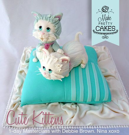 Cute Kittens and how Debbie Brown improved my skills!