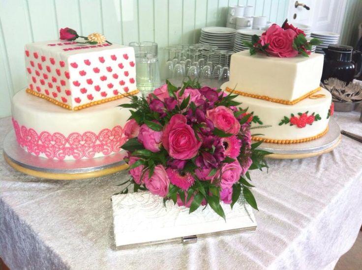 Weddingcake pink