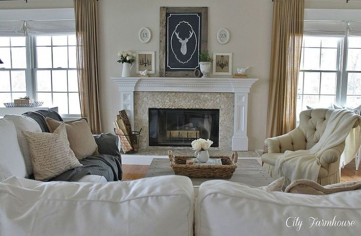 Family Room Reveal-Thrifty, Pretty