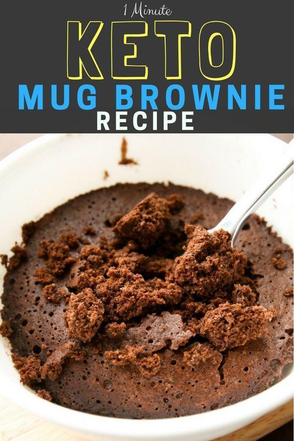 Low Carb Keto Brownie In A Mug Recipe Mug Recipes Mug Brownie