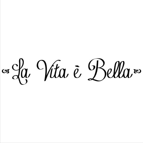 La Vita E Bella (Life is Beautiful) ($11) ❤ liked on Polyvore