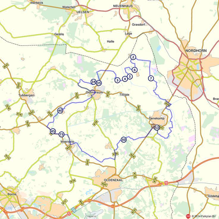 Fietsroute: Wielertocht 'De 65 van Hennie Kuiper'    Fiets je zaterdag 21 juni mee in de toertocht ter gelegenheid van de 65ste verjaardag van Twentse wielericoon Hennie Kuiper? Een fietstocht van 65 kilometer uitgezet door de geboortestreek Hennie.