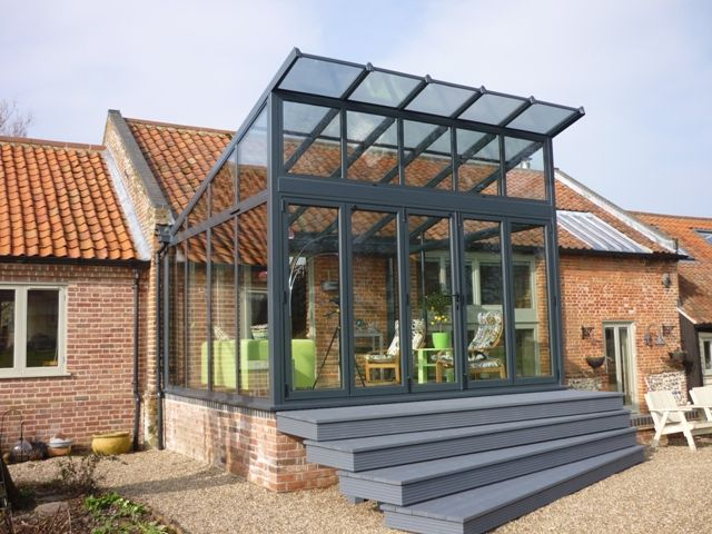 25 best ideas about glass conservatory on pinterest for Glass rooms conservatories