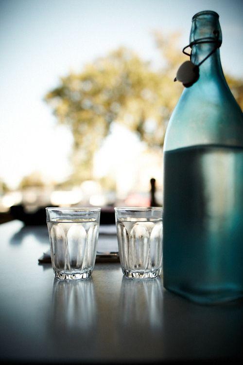Water/ Scenic. Café Derailler. Tree. Bottle. Water.