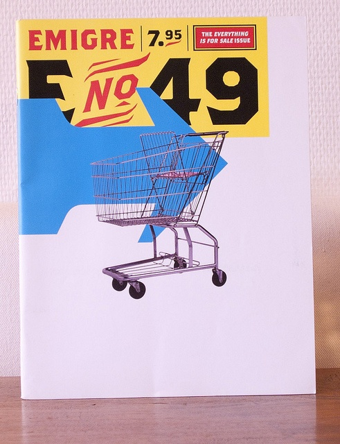 Emigre Magazine 49 by Typefaces world, via Flickr
