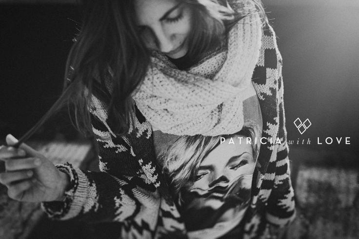 black and white. portrait.