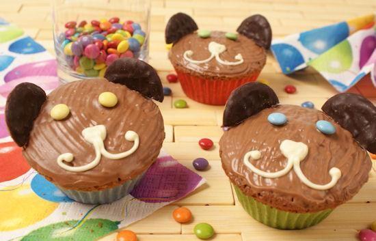rezept-Lustige Bärenmuffins für Kinder