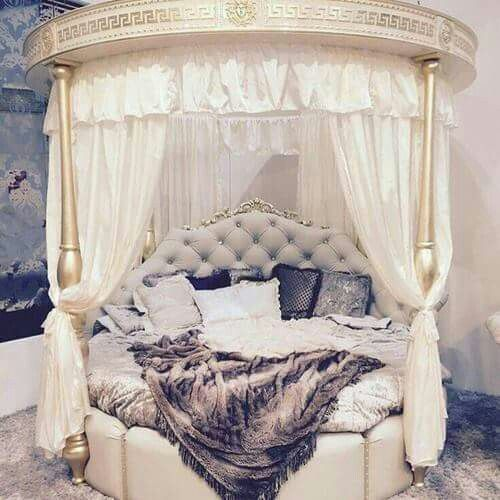 Romantic; whimsical; reading nook; daybed