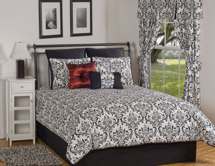 7 Best Emilee 39 S Room Images On Pinterest Bedrooms Black White Bedding And Master Bedroom