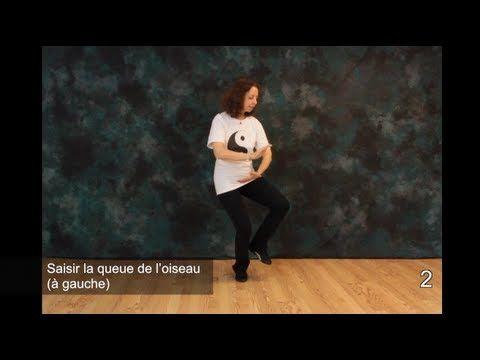 Leçons gratuites de Tai Chi - Mouvements 1, 2 et 3 - YouTube