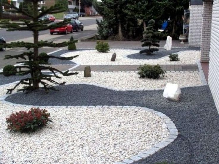 Fantastic White Stone Landscaping Ideas To Transform Your ...