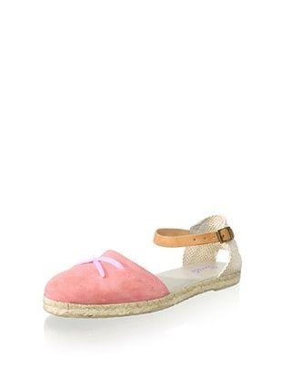 53% OFF Gorila Kid's Ankle-Strap Espadrille (Pink)