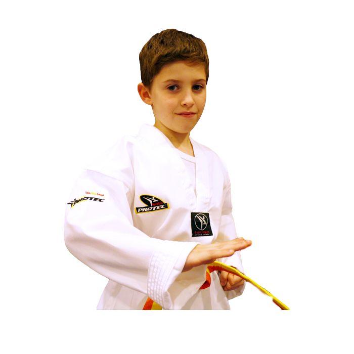 SoloArtesMarciales: Dobok Taekwondo P... en  http://soloartesmarciales.com/products/dobok-taekwondo-protec-inspire-cuello-blanco-bordado-en-espalda?utm_campaign=social_autopilot&utm_source=pin&utm_medium=pin
