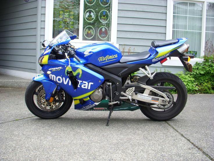 2006 Honda CBR600RR Movistar #10