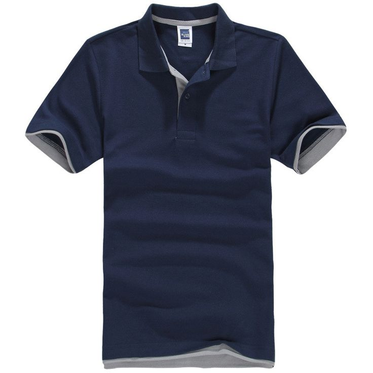 Short Sleeve Cotton Men's Brand Polo Shirt - Golf Tennis