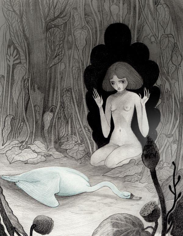 In Bianco e Nero by Isabella Mazzanti, via Behance