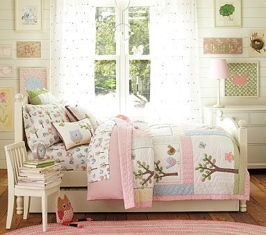 love this bedding and the bedroom and a good owl theme.  so sweet!