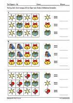 Tæl og angiv hvor mange af hver figur som findes i billederne