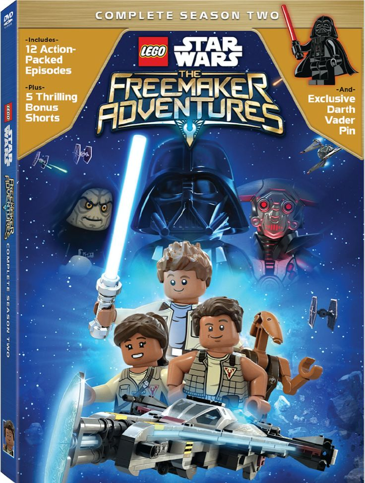 LEGO Star Wars the Freemaker Adventures on DVD March 13th.