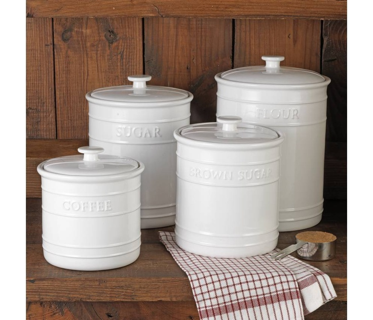 1000 Images About Kitchen Canisters On Pinterest French Kitchens Tins And Red Kitchen Canisters