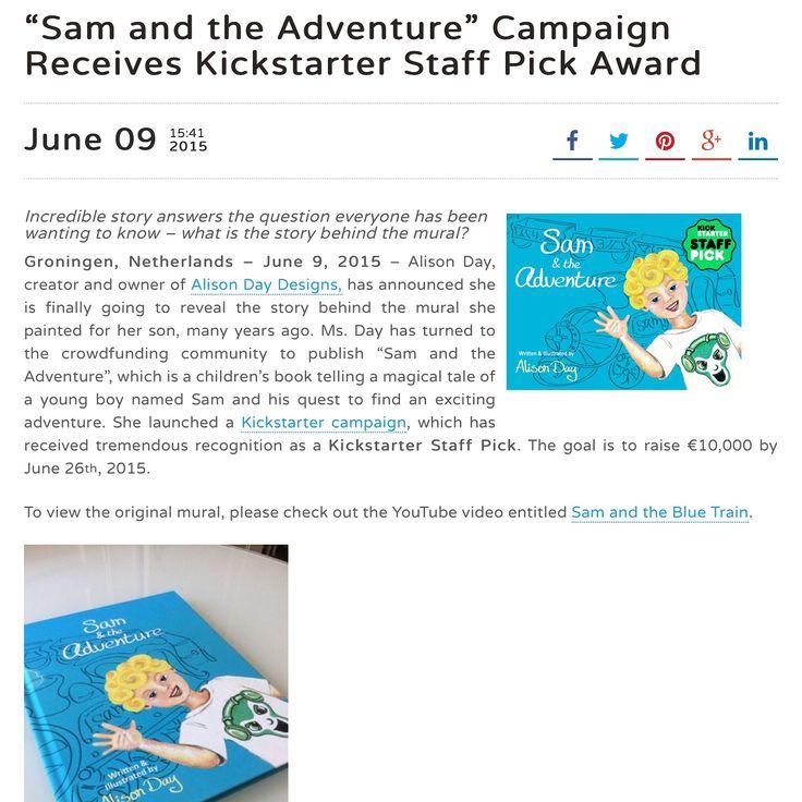 Sam & the Adventure in the Press