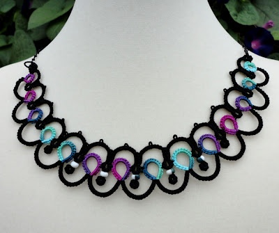 tatting - I love this necklace so much :-)