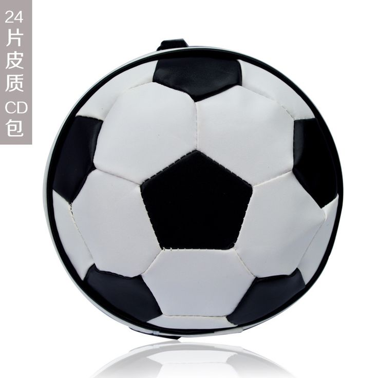 >> Click to Buy << Football pattern Portable 24 Disc Capacity DVD CD holder Case for Car Media Storage CD Bag -20 #Affiliate