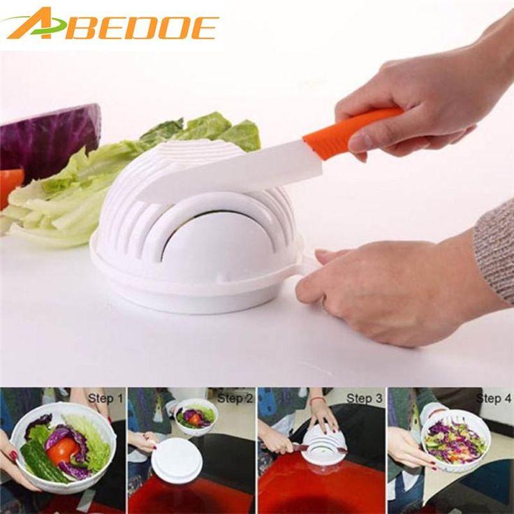 ABEDOE 60 Seconds Salad Cutter Bowl Wave Shape Easy Salad Maker Tools Fruit Vegetable Chopper Tools Cutter Kitchen Accessories http://ros-variety.myshopify.com/products/abedoe-60-seconds-salad-cutter-bowl-wave-shape-easy-salad-maker-tools-fruit-vegetable-chopper-tools-cutter-kitchen-accessories?utm_campaign=crowdfire&utm_content=crowdfire&utm_medium=social&utm_source=pinterest