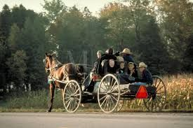 Kitchener Ontario - This is Amish Country and they can be seen on horse and buggy on rural roads. Amish  Farmer's Markets (St. Jacobs Ontario for eg.) are recommended for produce but mostly handcrafted items (furniture, clothes,etc.).