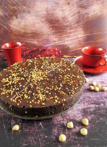 Csokoládé torta zila formában paleo