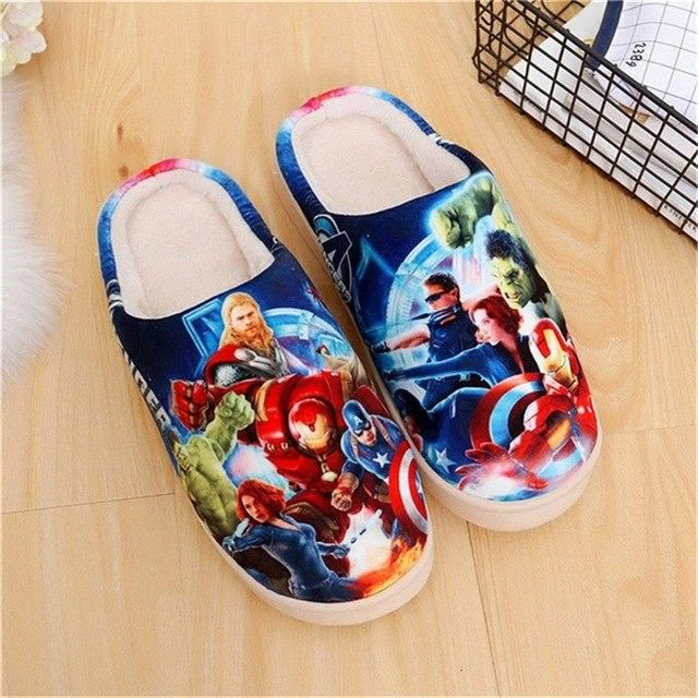 Kawaii Japanese Anime Cosplay Shoes One Piece Shoes Re Zero Pokemon Touken Ranbu Naruto Warm Plush Men Women Shoes Home Slippers