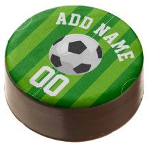 Football/Soccer Party Personalized Chocolate Covered Oreo