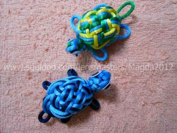 How to Make Turtle Craft with Chinese Knots. For L because he's So in love with his turtles!