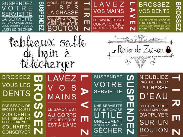 tableaux pour la salle de bain tlcharger test par zazou panier de zazou - Photo Pour Salle De Bain Tableau