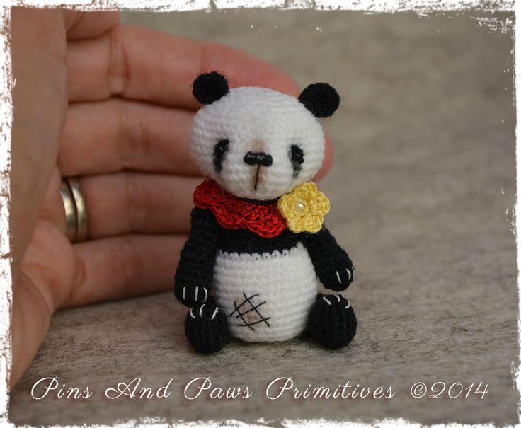 Amigurumi Panda Bear Crochet Pattern : Best thread bears images amigurumi patterns