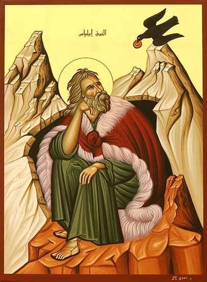 St. Elijah, the solitary Prophet