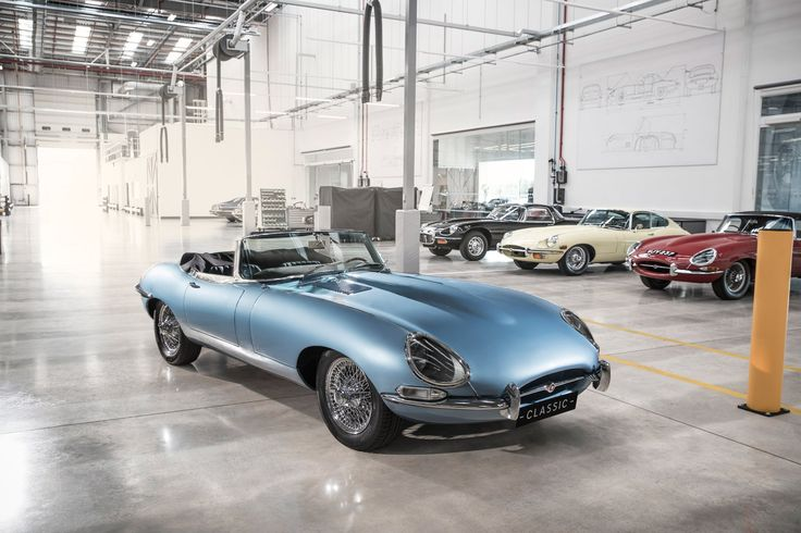 """With more and more countries planning to eradicate petrol cars, Jaguar has unveiled a zero-emissions version of its iconic E-type model – which it hopes will """"future-proof classic car ownership""""."""