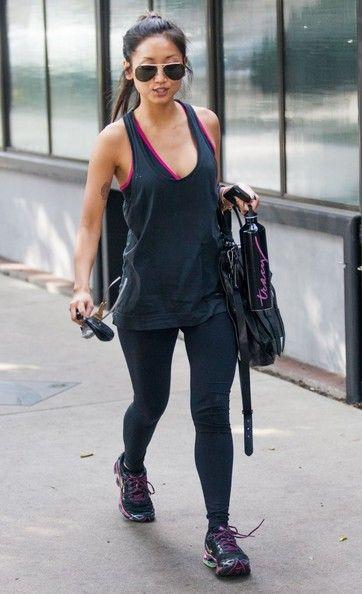 Brenda Song - Brenda Song Leaving A Gym In Studio City