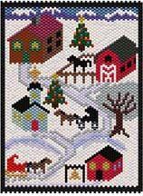 Vermont Village: Winter by Sigrid Wynne-Evans                                                                                                                                                      Más