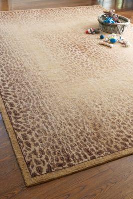 Vintage Panthera Rug - Animal Print Rug, Luxurious, New Zealand Wool   Soft Surroundings