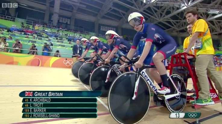 Team GB break world record in women's team pursuit cycling!