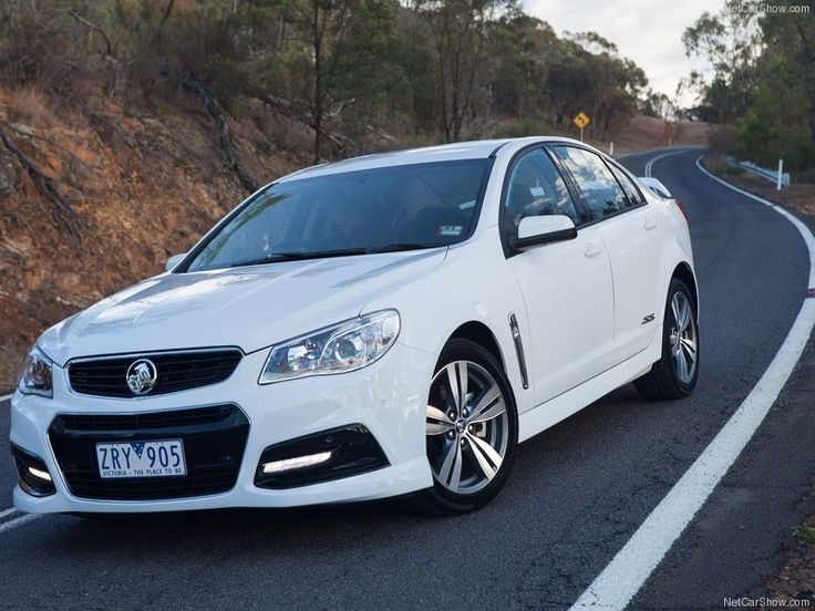 Holden VF Commodore Front View