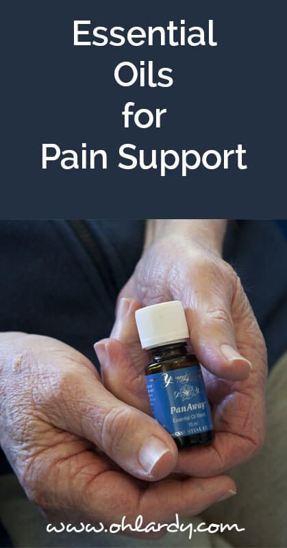 Essential oils for pain support - ohlardy.com