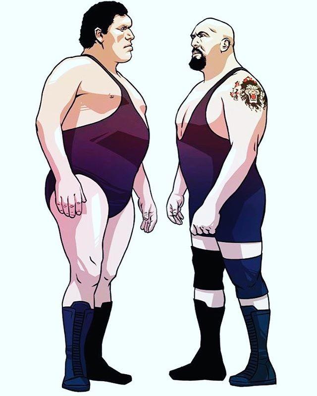 Andre Vs Big Show Wwe Legends Wrestling Wwe Wwe Wrestlers