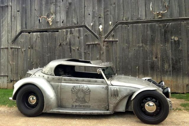 Custom vw bug pinned from Just a car guy