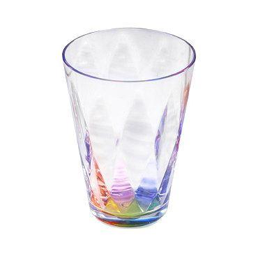 Kaleidoscope Unbreakable Plastic Picnicware - Drinks Tumbler 400ml - from Lakeland